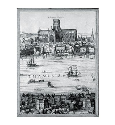Picture of 1500's London Map